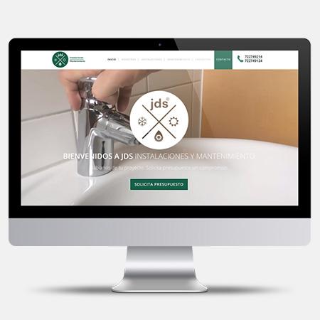 DISEÑO WEB Fontanería - JDS Instalaciones