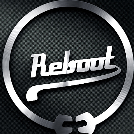 Logo Design - Reboot Motorcycle graphic design services