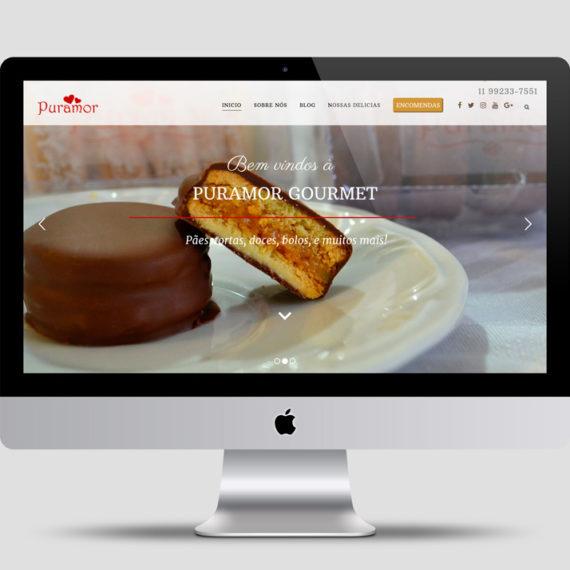 PROYECTO DISEÑO WEB - Panadería Puramor alfajor y plato