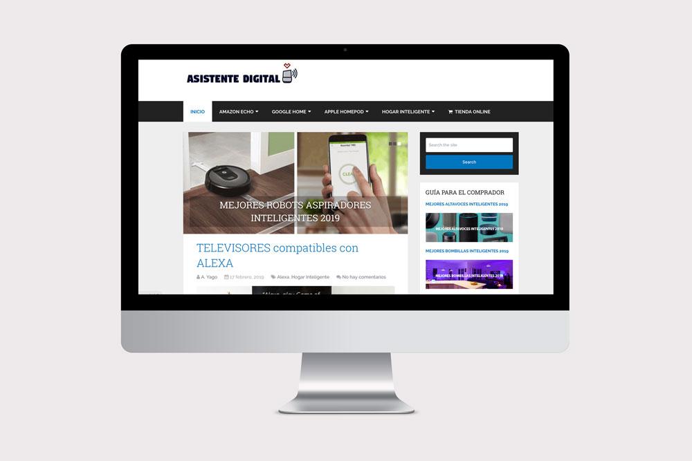 diseño web, blog y tienda online