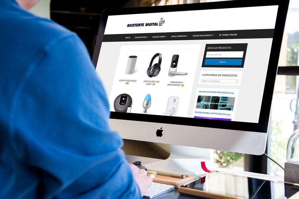 proyecto diseño web asistente digital