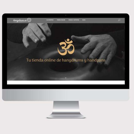 diseño web de hangdrum.es